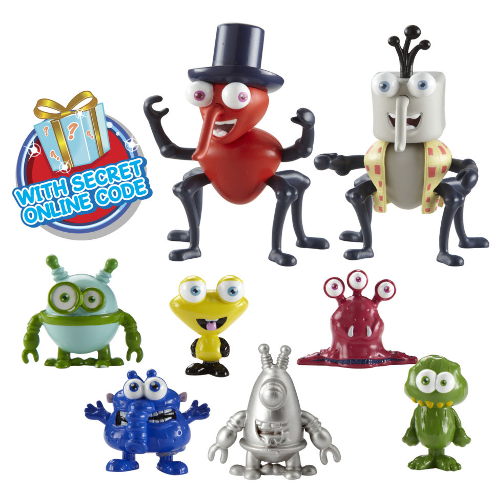 Bin Weevils Weevil And Binbot Figure Pack