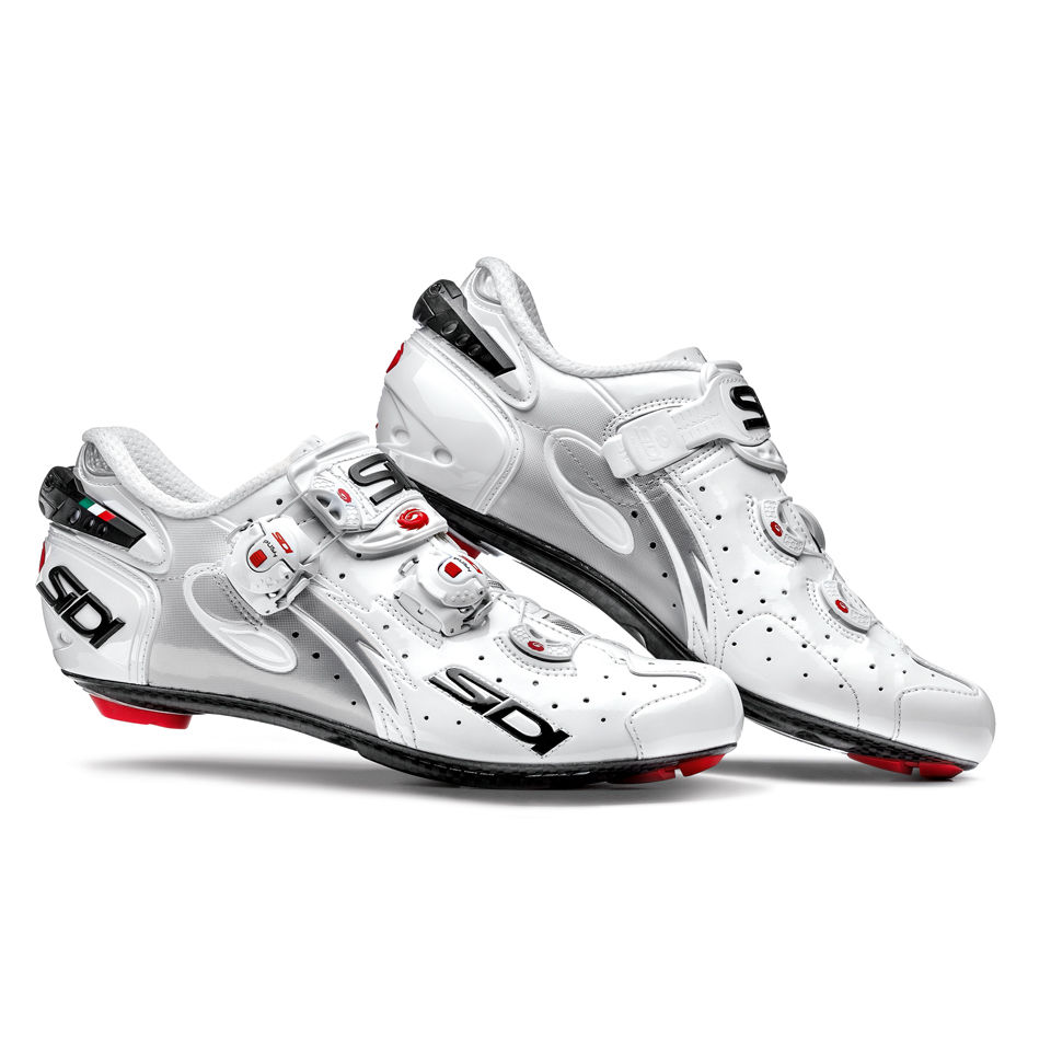 Sidi Wire Carbon Vernice Womens Cycling Shoes - White
