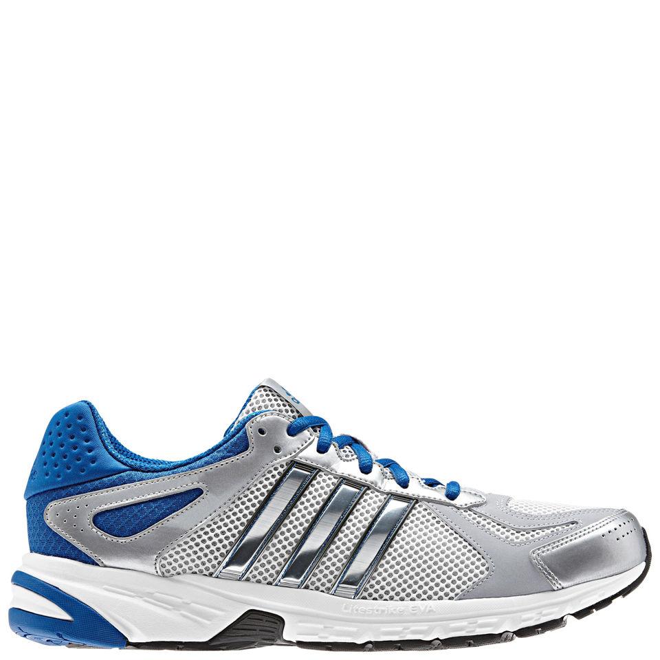 check out c8f4c 694d8 ... adidas Men s Performance Duramo 5 Running Shoes - Running White Metallic  Silver
