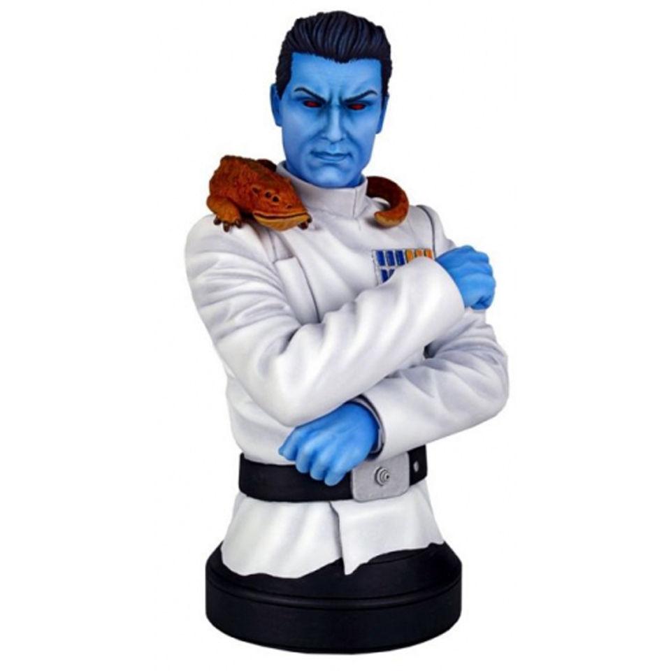 Gentle Giant Star Wars Grand Admiral Thrawn Mini Bust