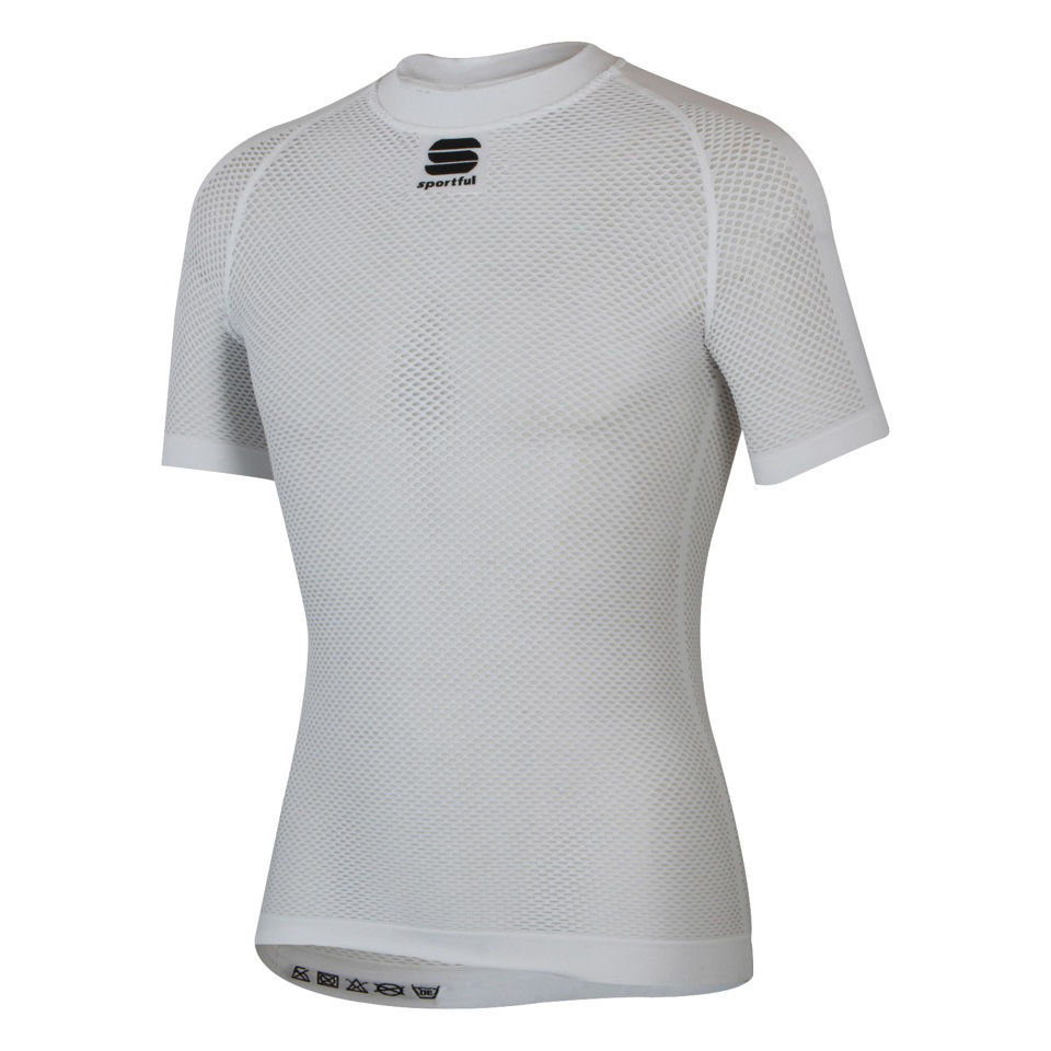 Sportful 2nd Skin X-Lite Short Sleeve Baselayer - White