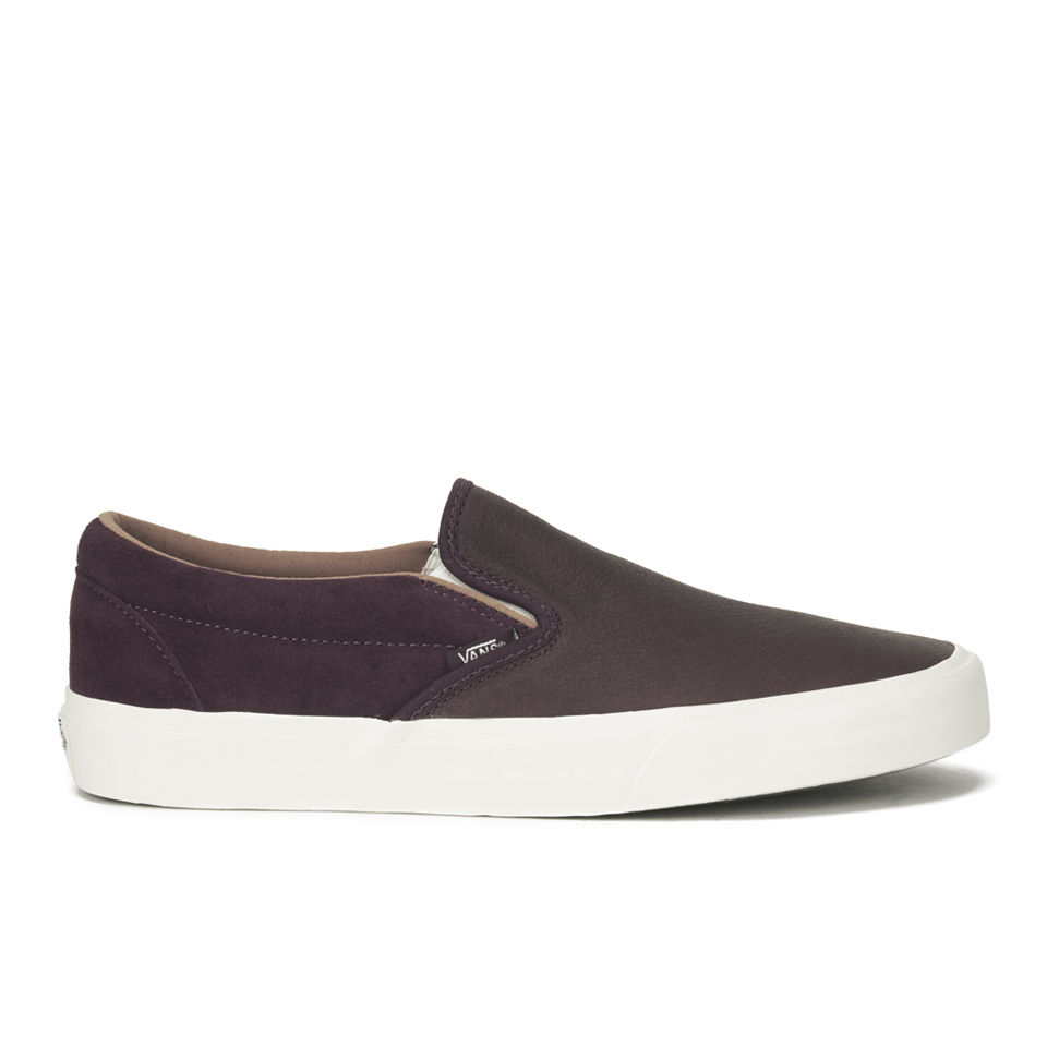 9a215092792365 Vans Men s California Torino Leather Slip-On Trainers - Winetasting ...