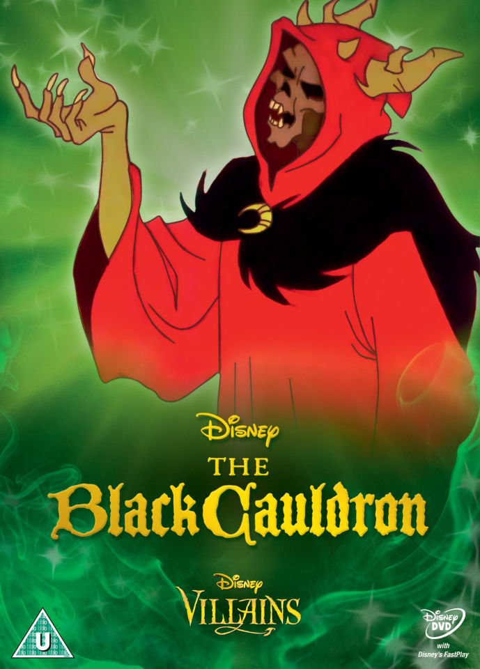 The Black Cauldron Disney Villains Limited Artwork