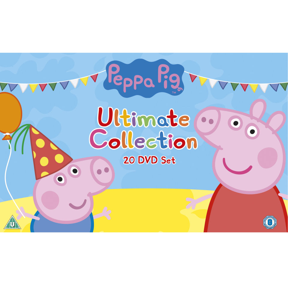 the peppa pig ultimate boxset dvd