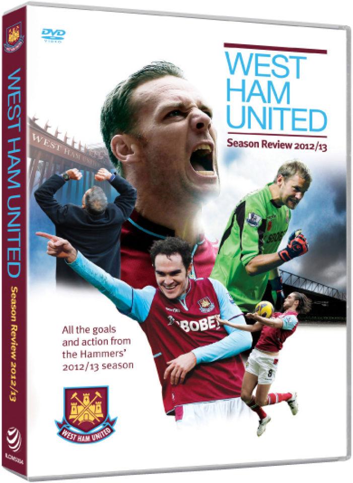 West Ham United Season Review 2012 13 Dvd Zavvi