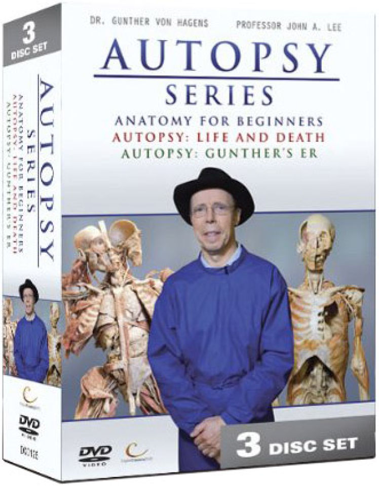 Dr Gunther Autopsy Series Dvd Zavvi