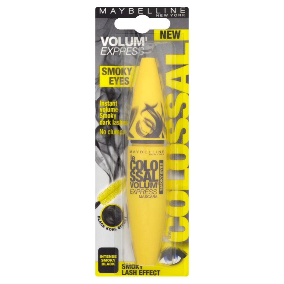 f1a2737435f Maybelline New York Colossal Volum' Express Mascara Smokey Eyes - Intense Smokey  Black (10.7. Description