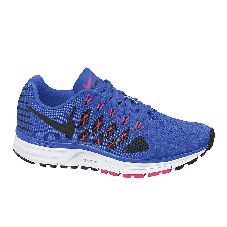 e42bf2eb540a3 Nike Men s Zoom Vomero 9 Running Shoes - Cobalt Blue Black Sports ...