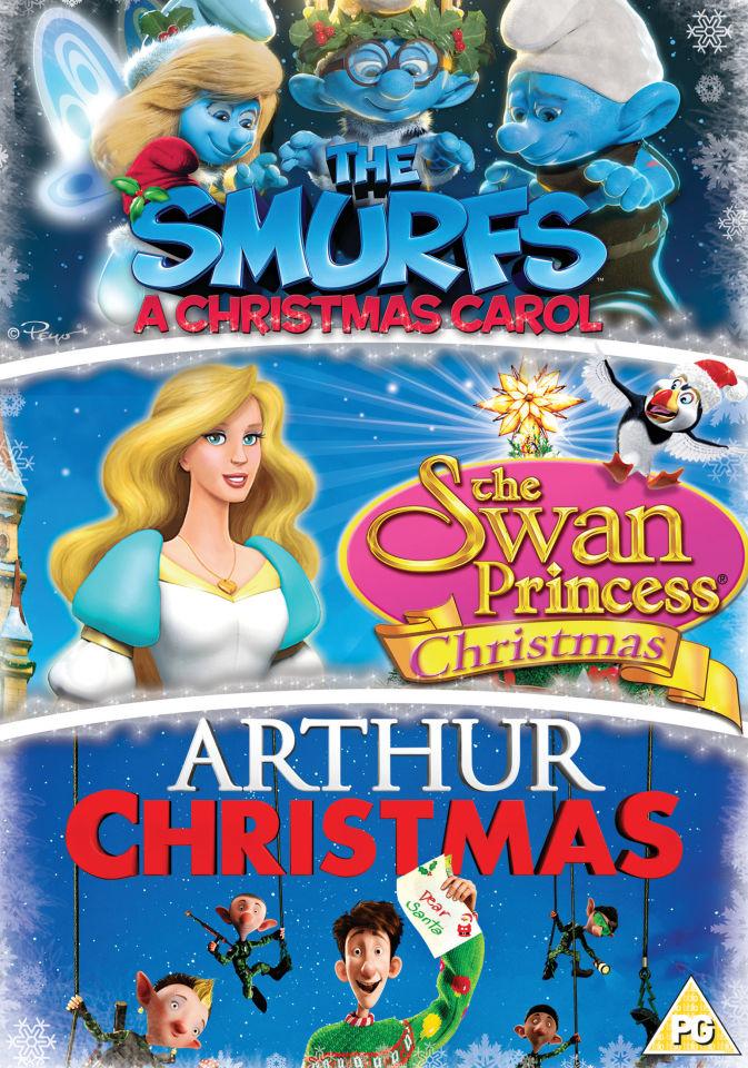 The Swan Princess Christmas.Arthur Christmas Smurfs Christmas Carol Swan Princess Christmas