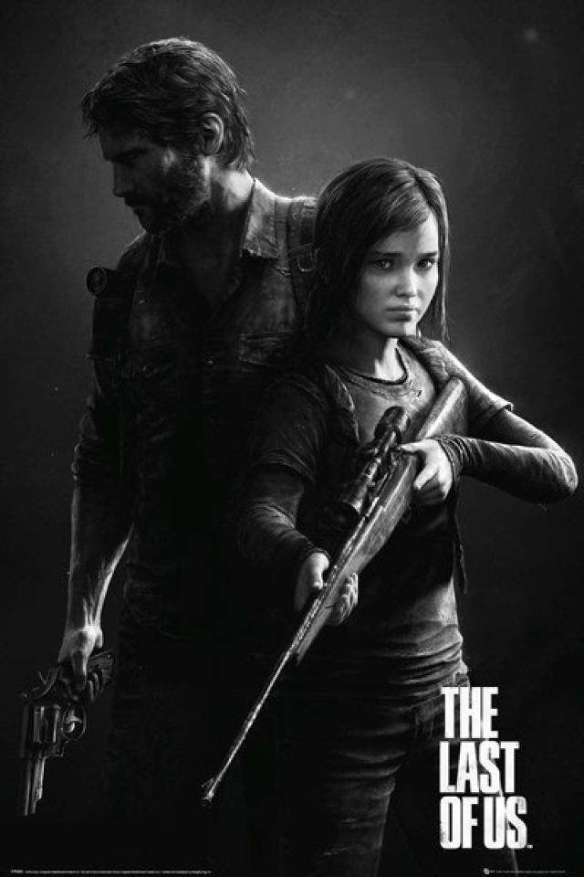 The Last of Us Black and White Portrait - Maxi Poster - 61 x 91.5cm