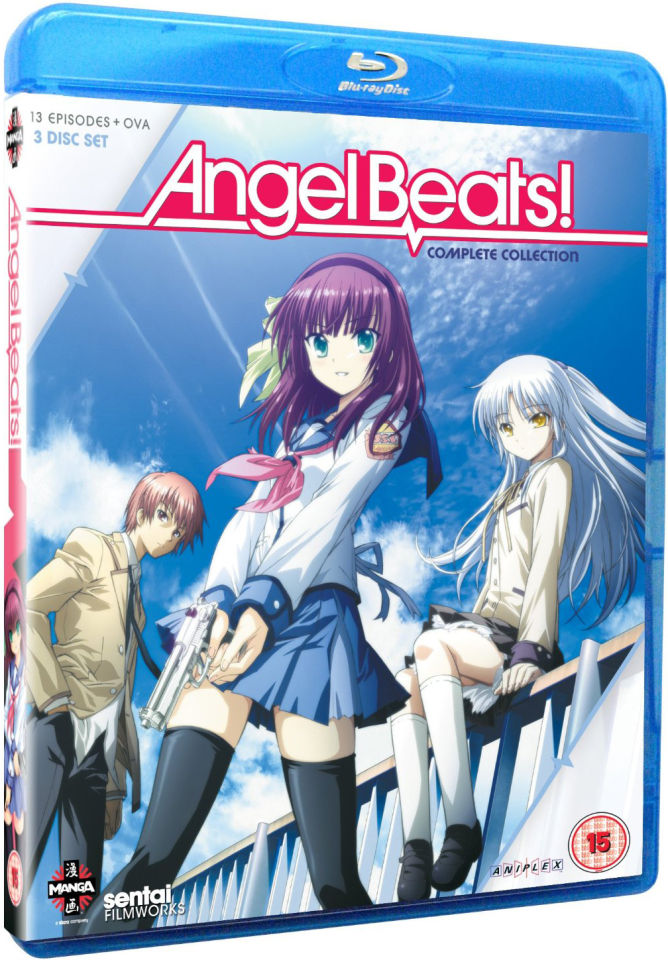 Angel Beats Complete Series Collection Blu Ray Zavvi
