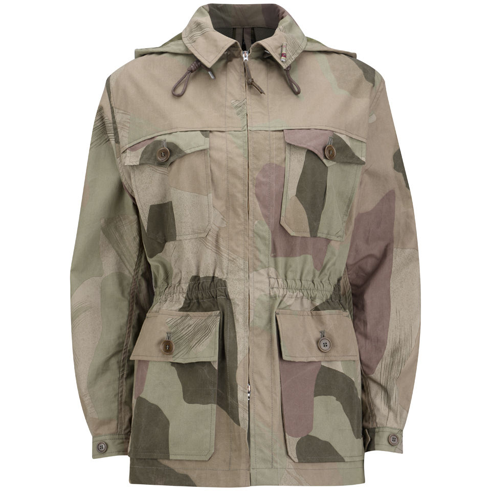 d97329a9762e Nigel Cabourn Women s Jacket - Light Camouflage - Free UK Delivery ...