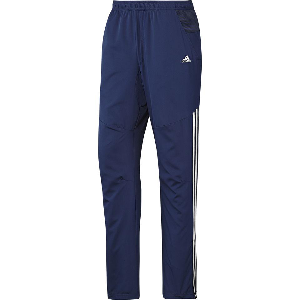 adidas Men's Classic Woven Open Hem Training Pants Navy