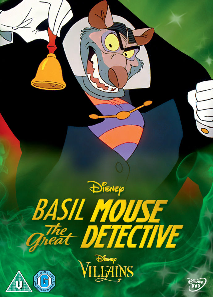 Basil The Great Mouse Detective Disney Villains Limited