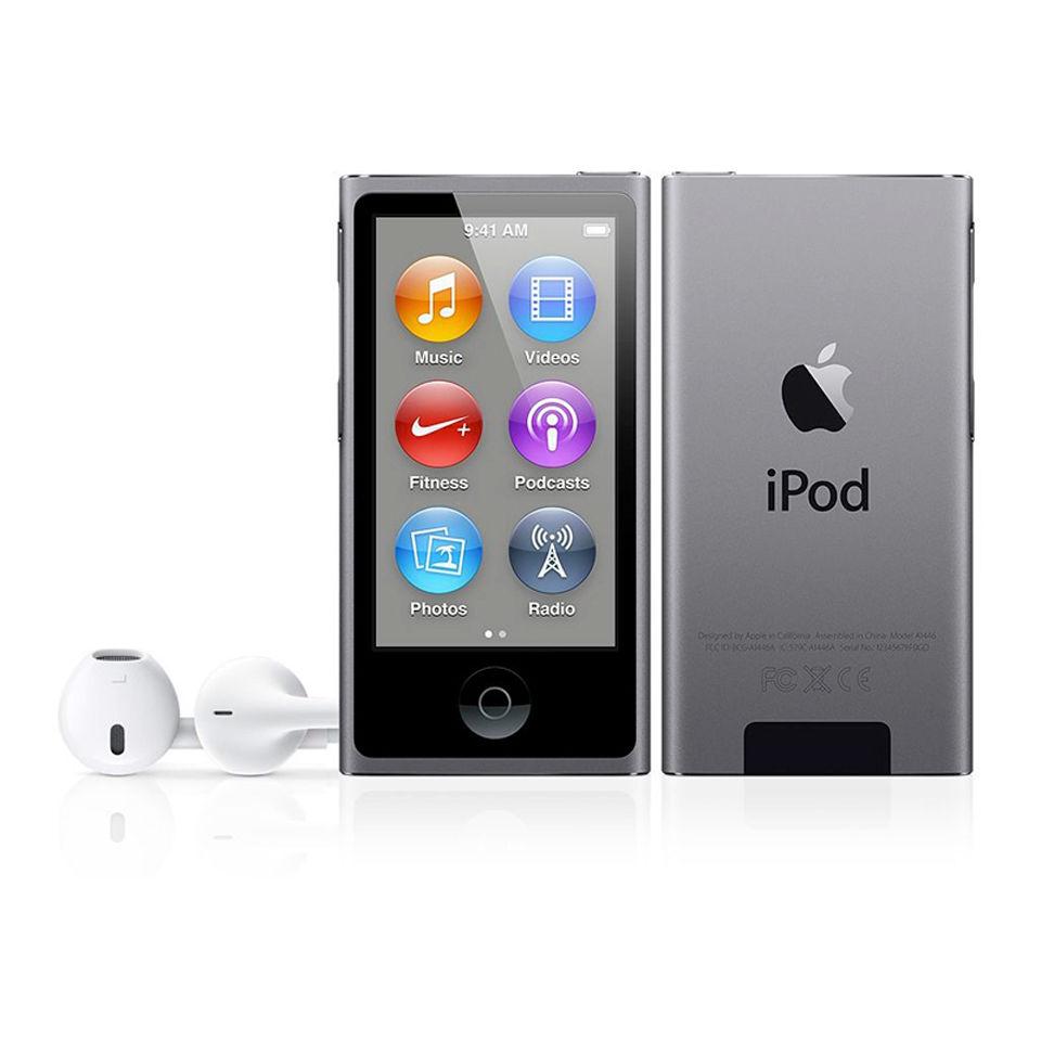 apple ipod nano 16gb 7th gen space grey electronics. Black Bedroom Furniture Sets. Home Design Ideas