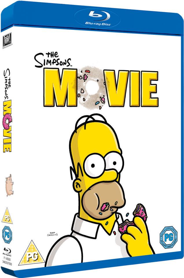 The Simpsons Movie Blu Ray Zavvi Us