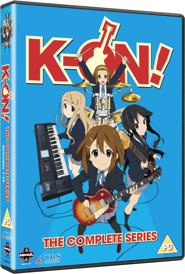 K-ON! - Complete Series Collection