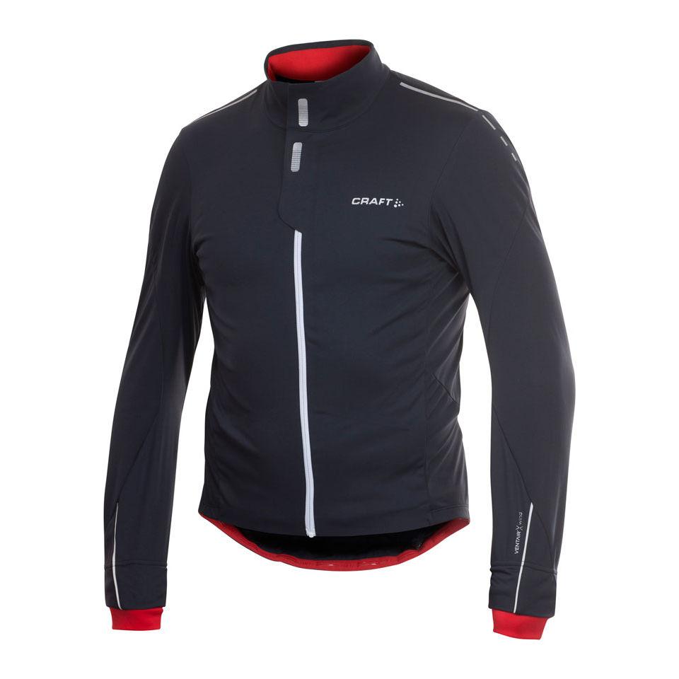 Craft elite bike pace full zip cycling jacket probikekit uk for Craft mountain bike clothing