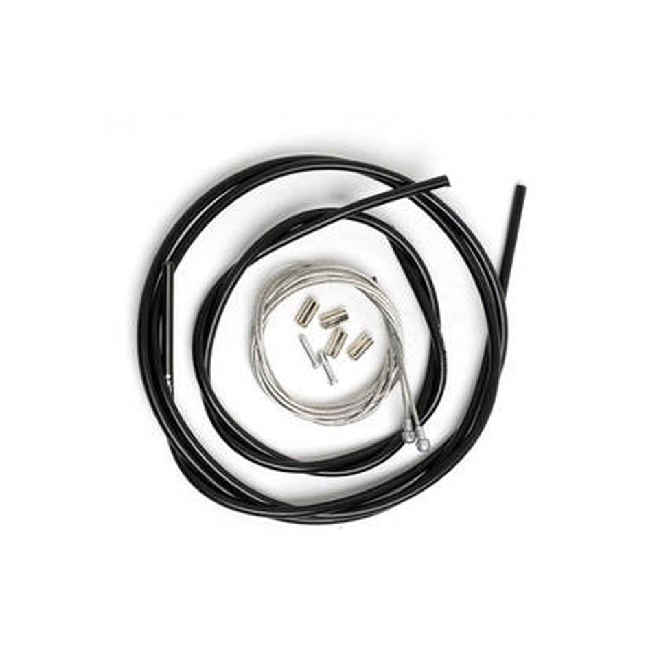 Shimano Road Brake Cable Set with Polymer Coated Inner Grey