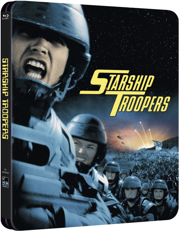 starship troopers blu ray 1997 hd 1080p french