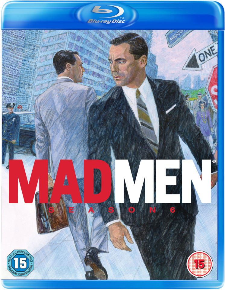 Mad Men Season 6 Blu Ray Zavvi Australia