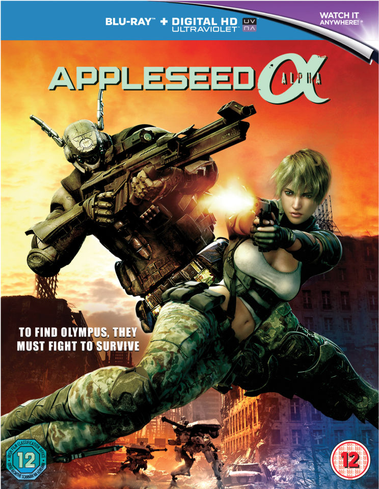 Appleseed Alpha (Includes UltraViolet Copy)