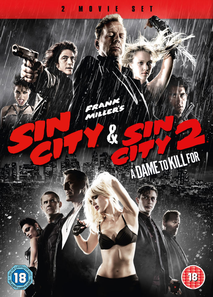 Sin City & Sin City 2: A Dame To Kill For Double Pack