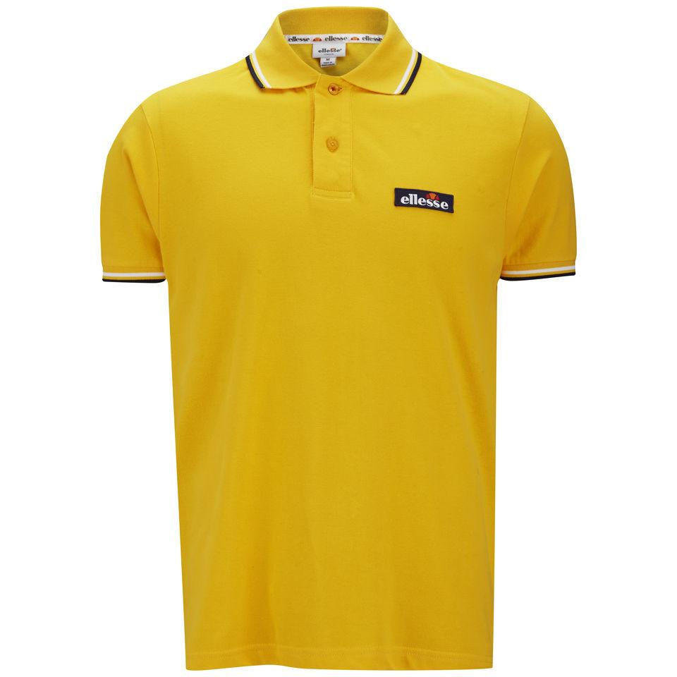 8337a9b964 Ellesse Men's Challenge Polo Shirt - Yellow