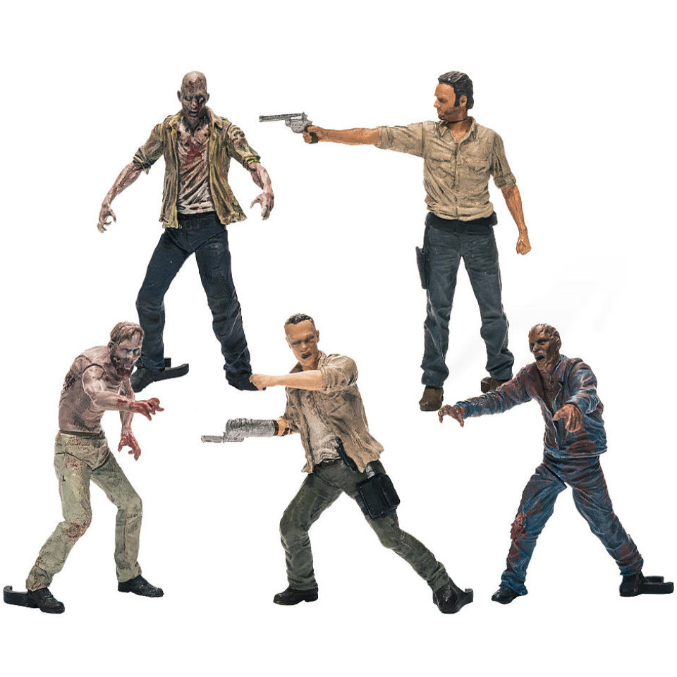 The Walking Dead Multi Figure Construction Box Set