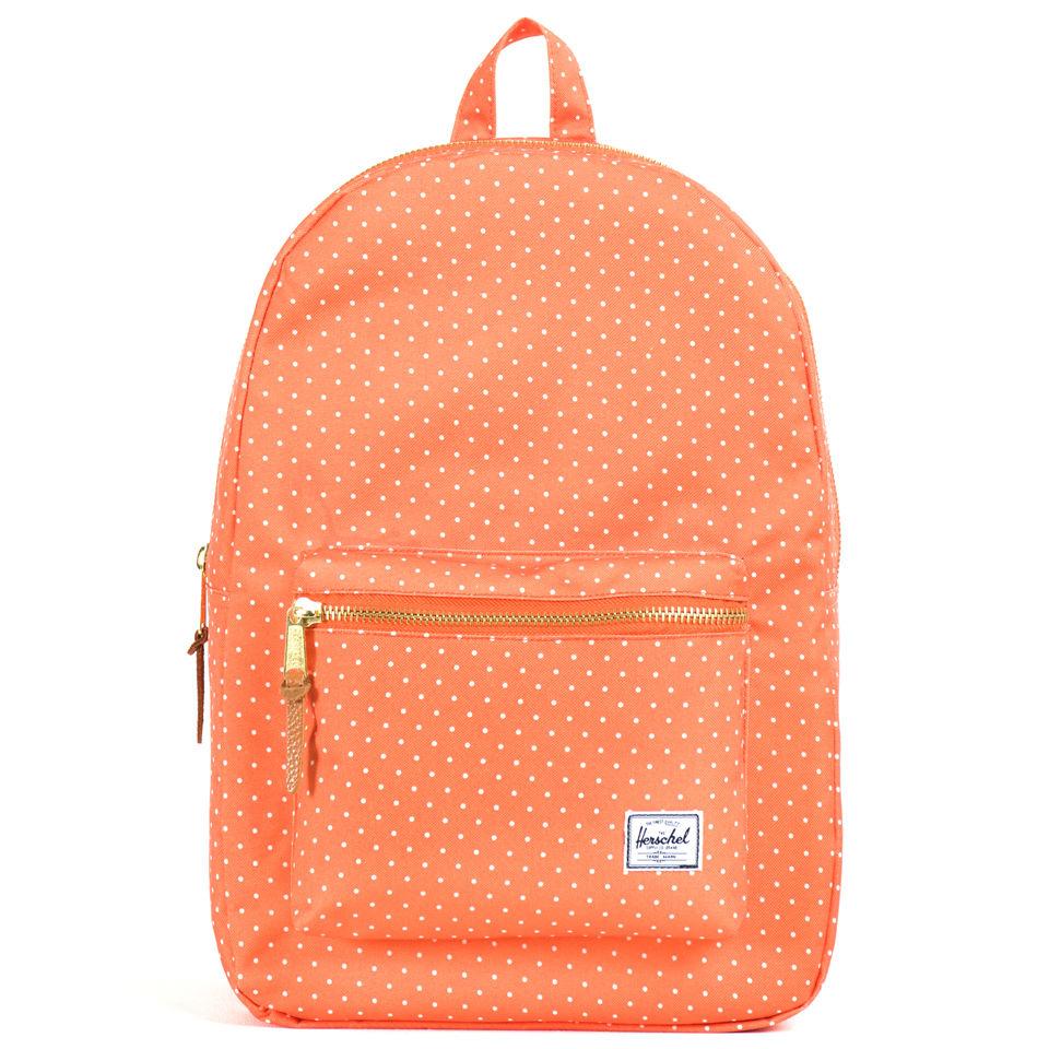 70da23d2734a Settlement Backpack - Orange Polka Dot Herschel Supply Co. Settlement  Backpack - Orange Polka Dot