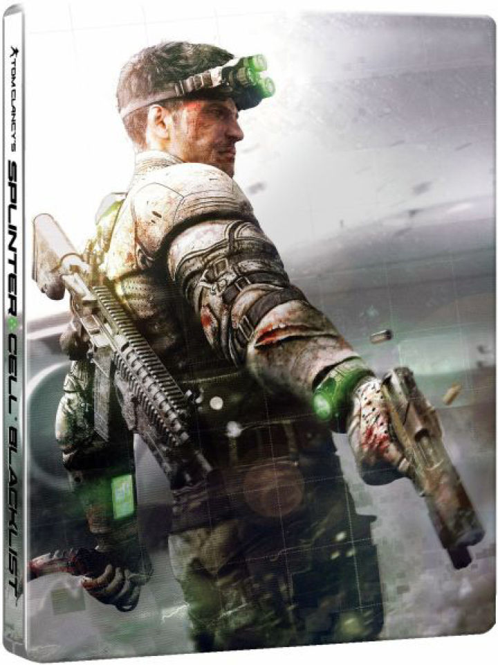 Splinter Cell Blacklist Steelbook Case