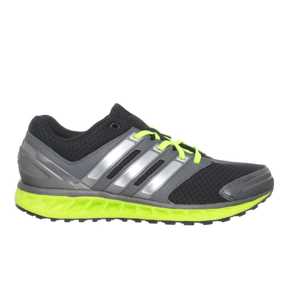 adidas Men's Falcon Elite 3 Running Shoes BlackSilverGreen