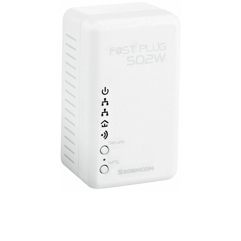 Sagemcom Fast Plug 502W Powerline WiFi Extender