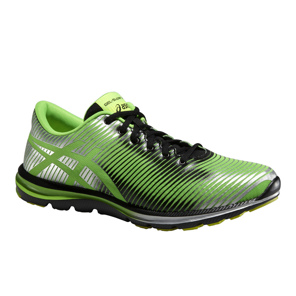 largest selection of 2019 new high wide selection Asics Men's Gel Super J33 Natural Running Shoes - Flash Green/Onyx/Silver