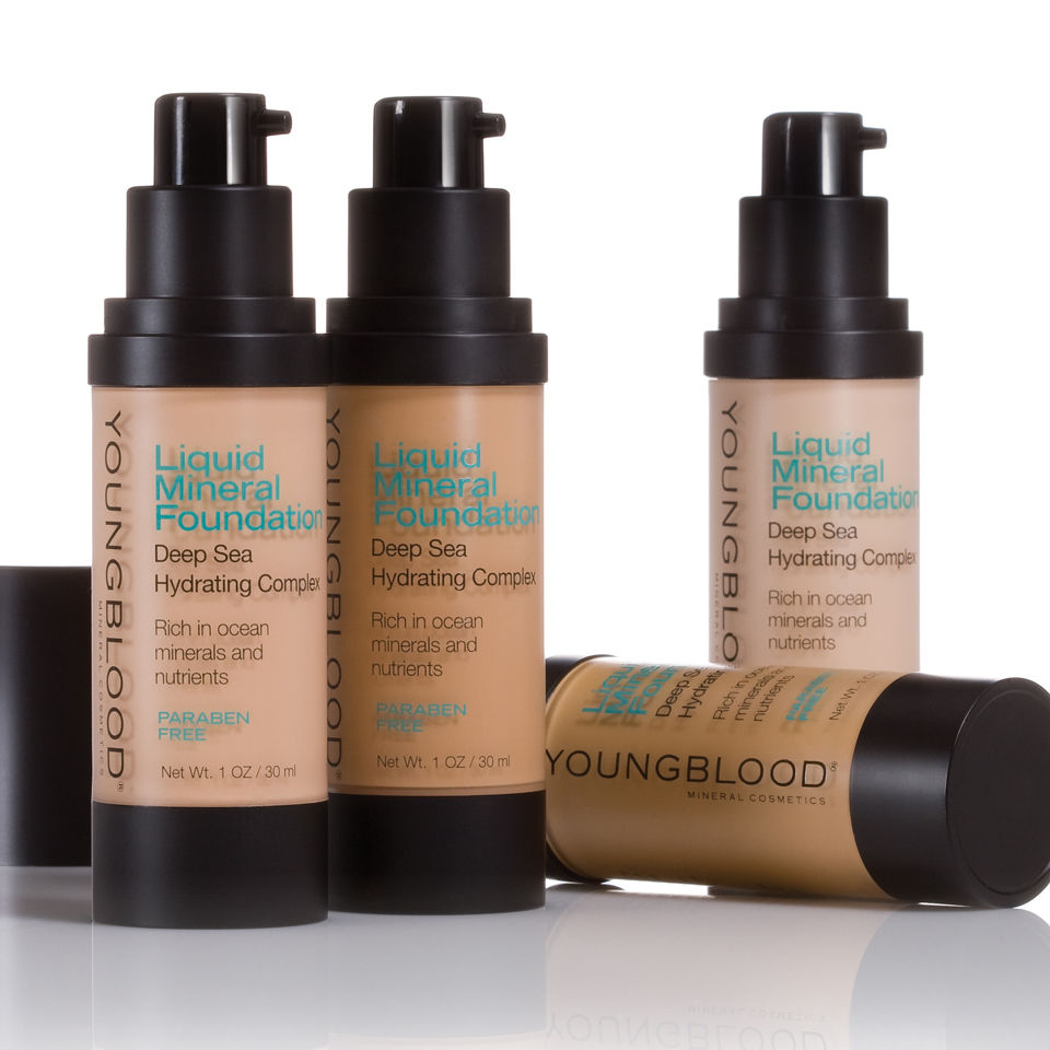Smuk Youngblood Liquid Mineral Foundation | Buy Online At RY RH-13