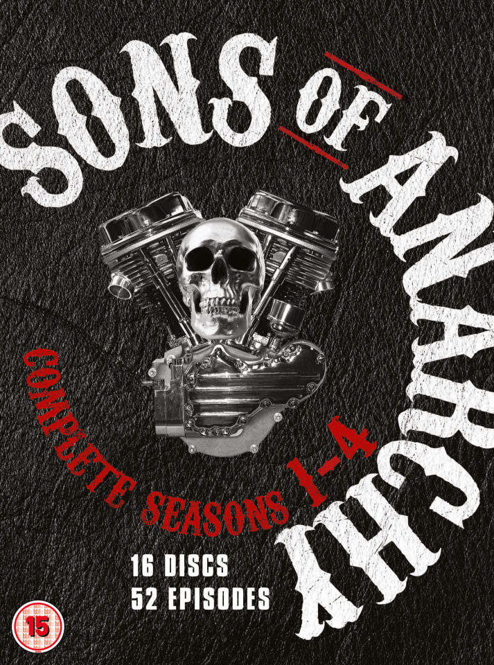 Sons of Anarchy - Seasons 1-4