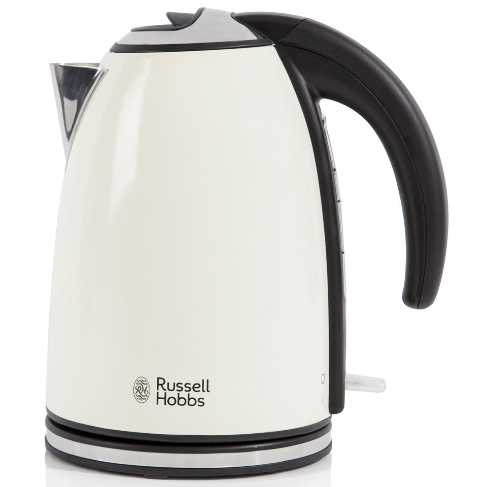 russell hobbs 1 7 litre jug kettle cream iwoot. Black Bedroom Furniture Sets. Home Design Ideas