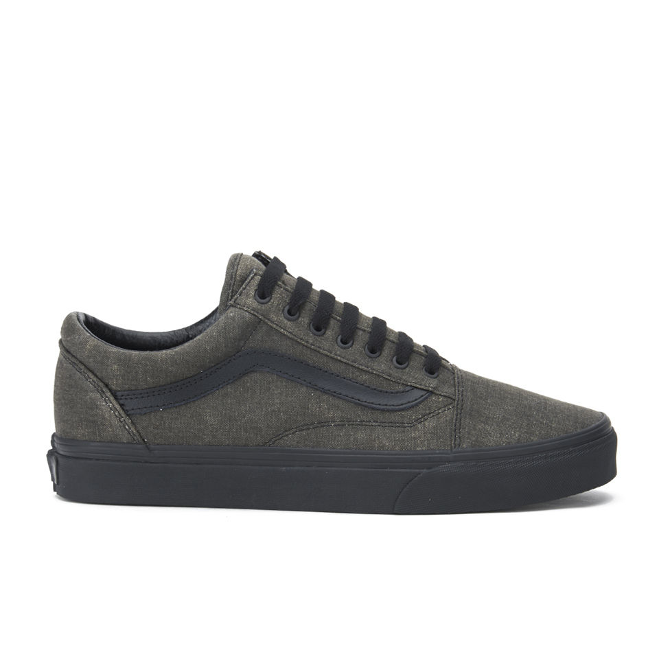 Vans Men's Old Skool Washed Trainers Black