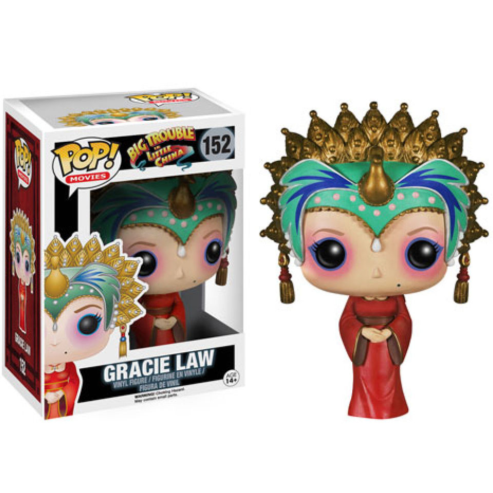 Big Trouble in China Gracie Law Pop! Vinyl Figure