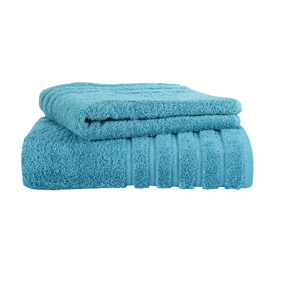 Kingsley Lifestyle Towel - Kingfisher