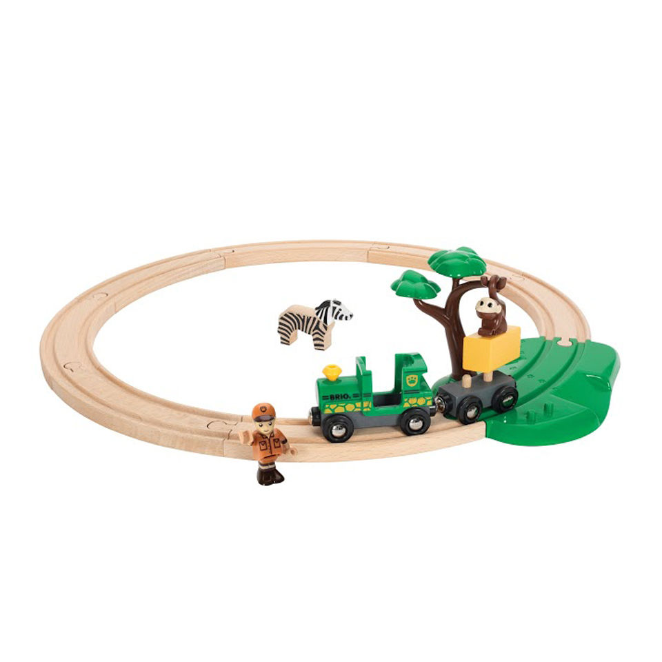 Brio Safari Train Set