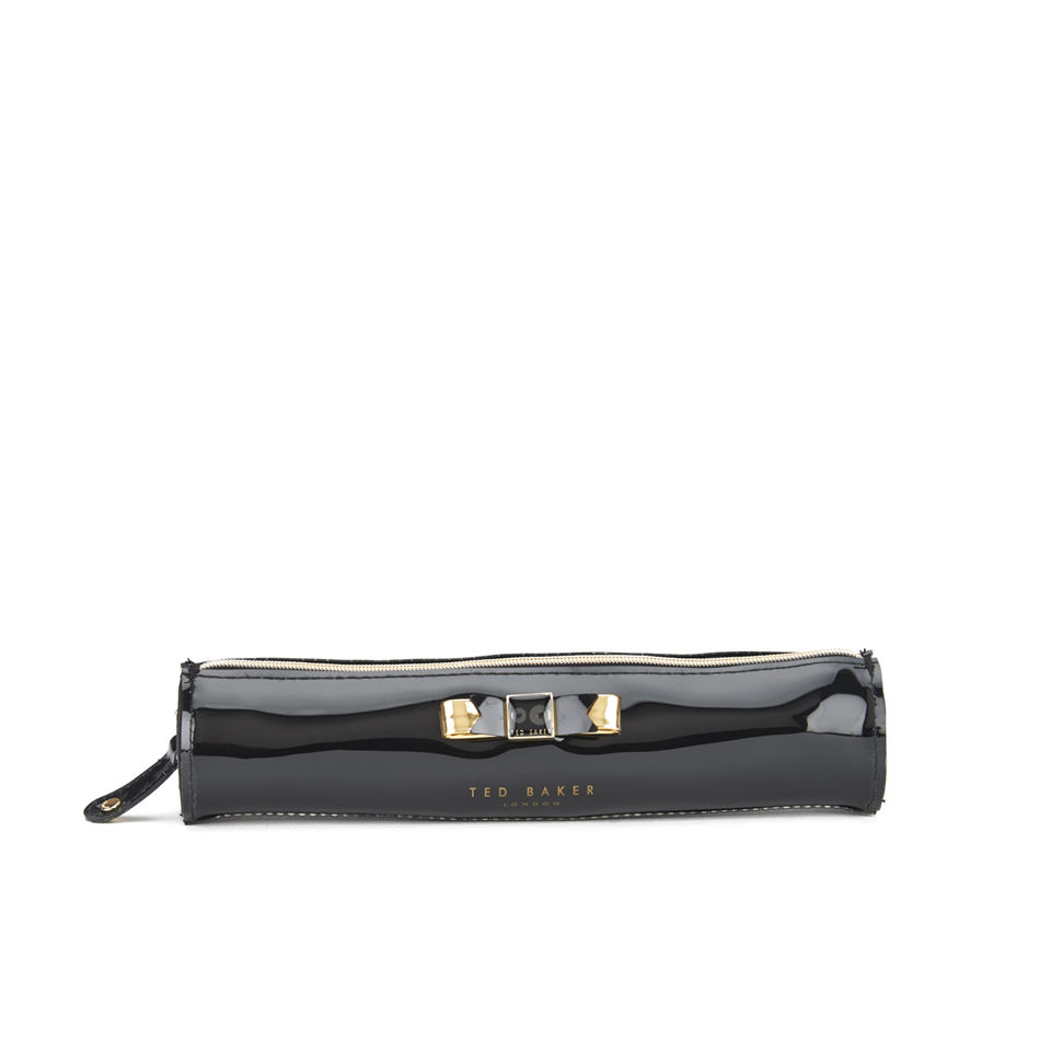 best service aa9cd 63fac Ted Baker Bow Pencil Case - Black