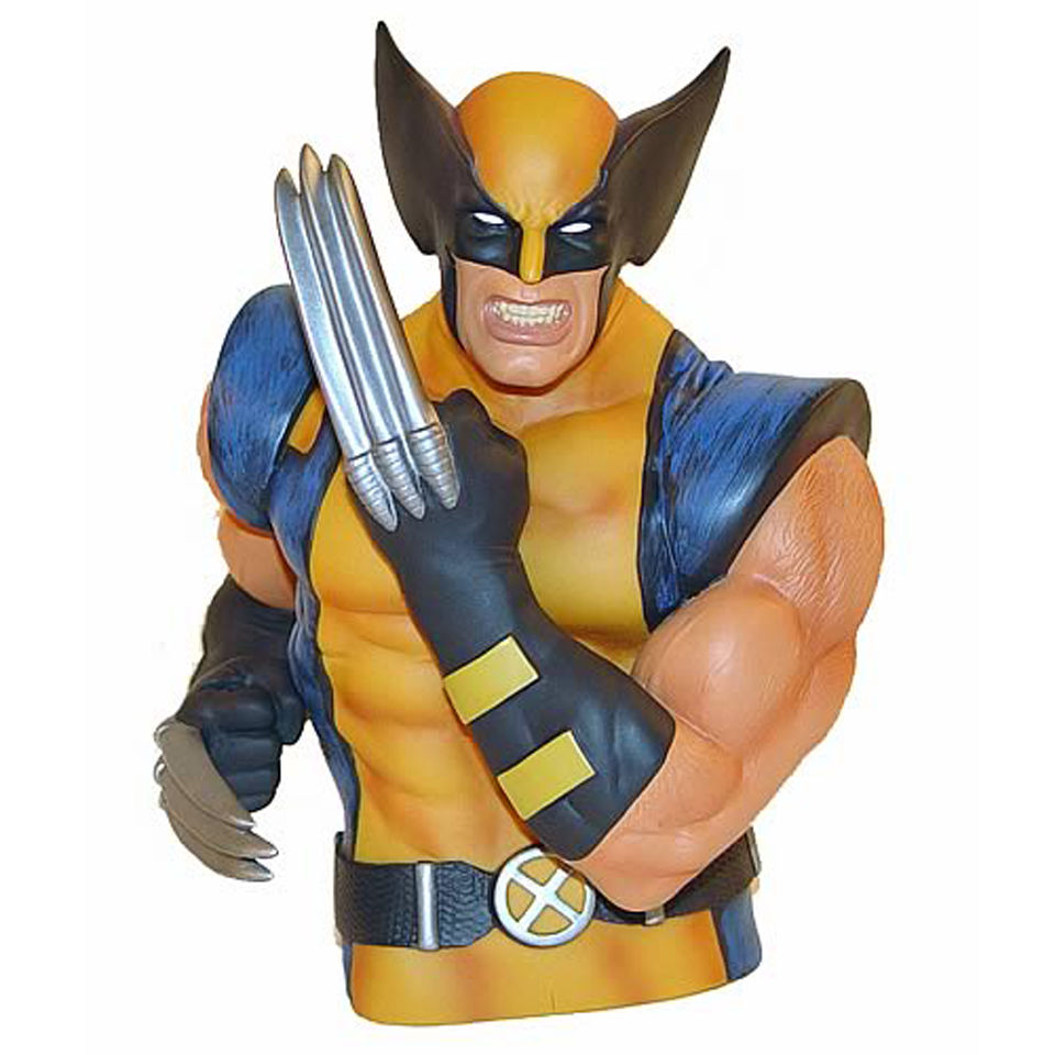 Marvel Wolverine Bust Bank