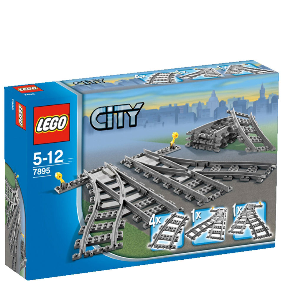 LEGO City Trains: Switch Tracks (7895)