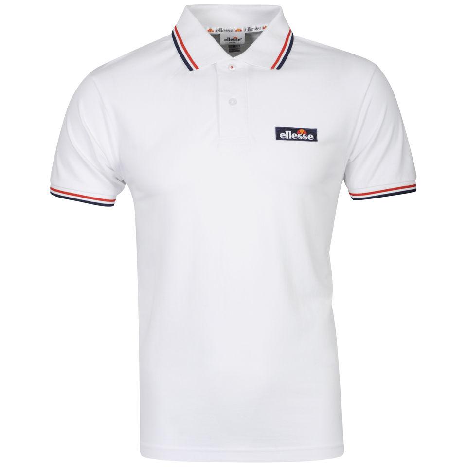 9d179240 Ellesse Men's Challenge Tipped Polo Shirt - White