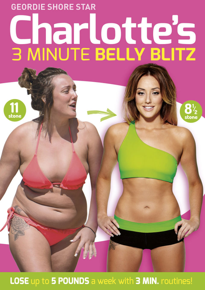 Charlotte Crosby's 3 Minute Belly Blitz | Zavvi.nl