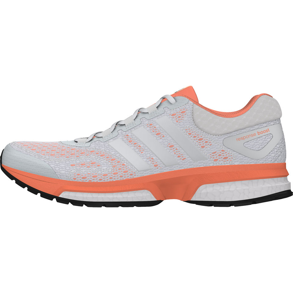 8007f067328a adidas Women s Response Boost Running Shoes - Orange White Black Sports    Leisure