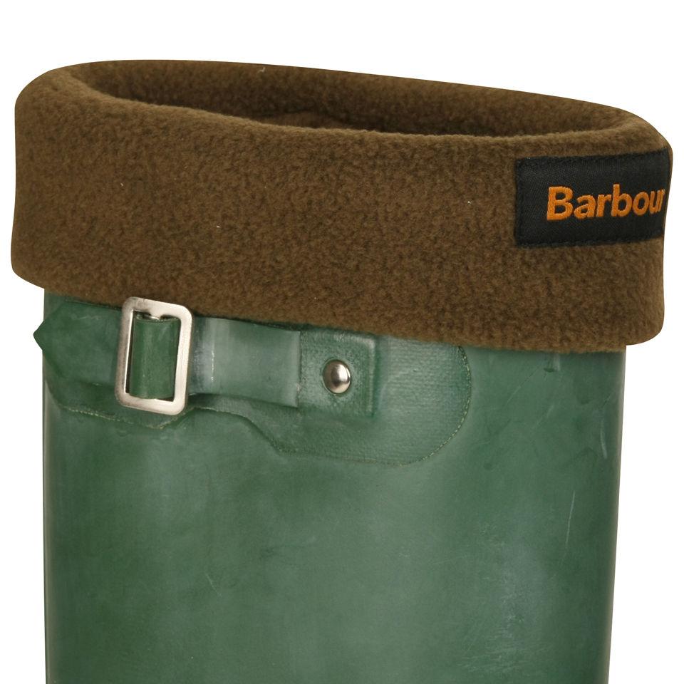 cheap release date buy online Barbour Men's Fleece Wellington Socks - Olive