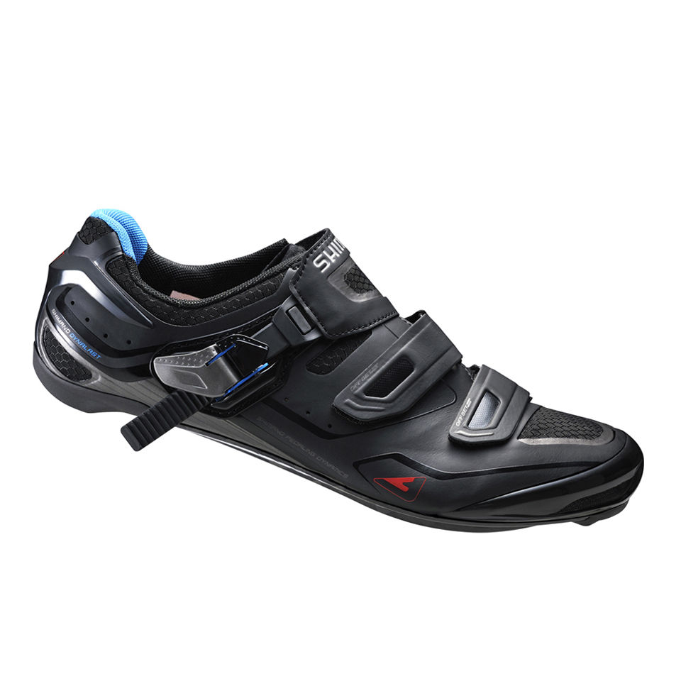 Shimano R260 Carbon Road Cycling Shoes - Black
