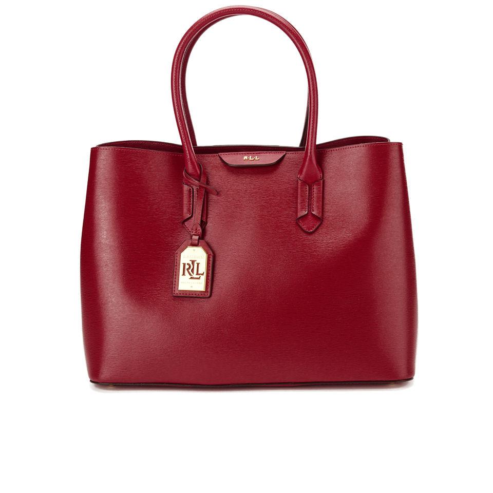 4fe3e354 Lauren Ralph Lauren Women's Tate City Tote Bag - Red